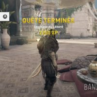 Assassin's Creed Origins Bayek a vaincu le Lézard