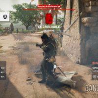 Assassin's Creed Origins Bayek a tué le Crocodile