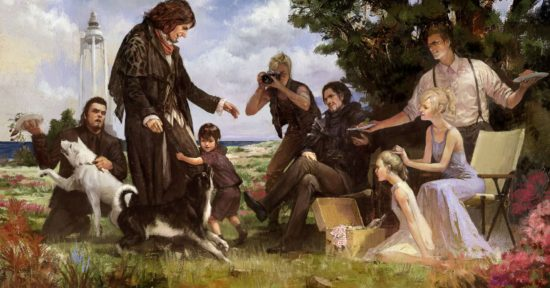 Final Fantasy XV alternative ending concept art Band of Geeks