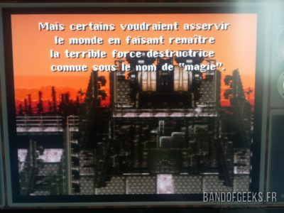 Super Nintendo Mini Final Fantasy VI en français