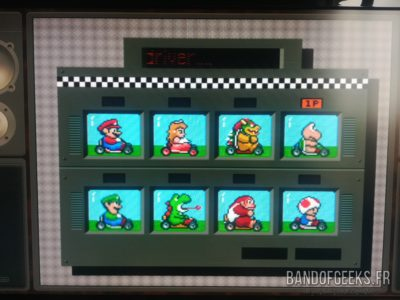 Super Nintendo Mini Super Mario Kart