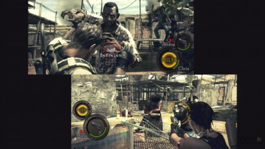 Resident Evil 5 coopération