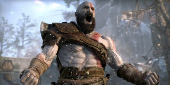 God of War PS4 Kratos colère hurlement Band of Geeks