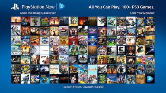 PS Now catalogue