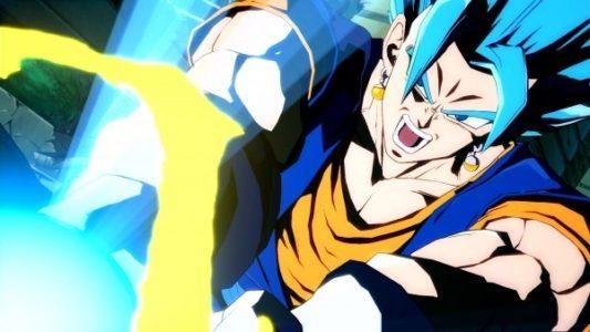 Dragon Ball FighterZ Végéto fait un kaméhaméha