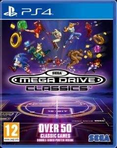 Sega Mega Drive Classics jaquette ps4