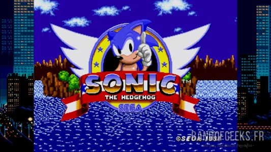 Sonic the Hedgehog écran titre