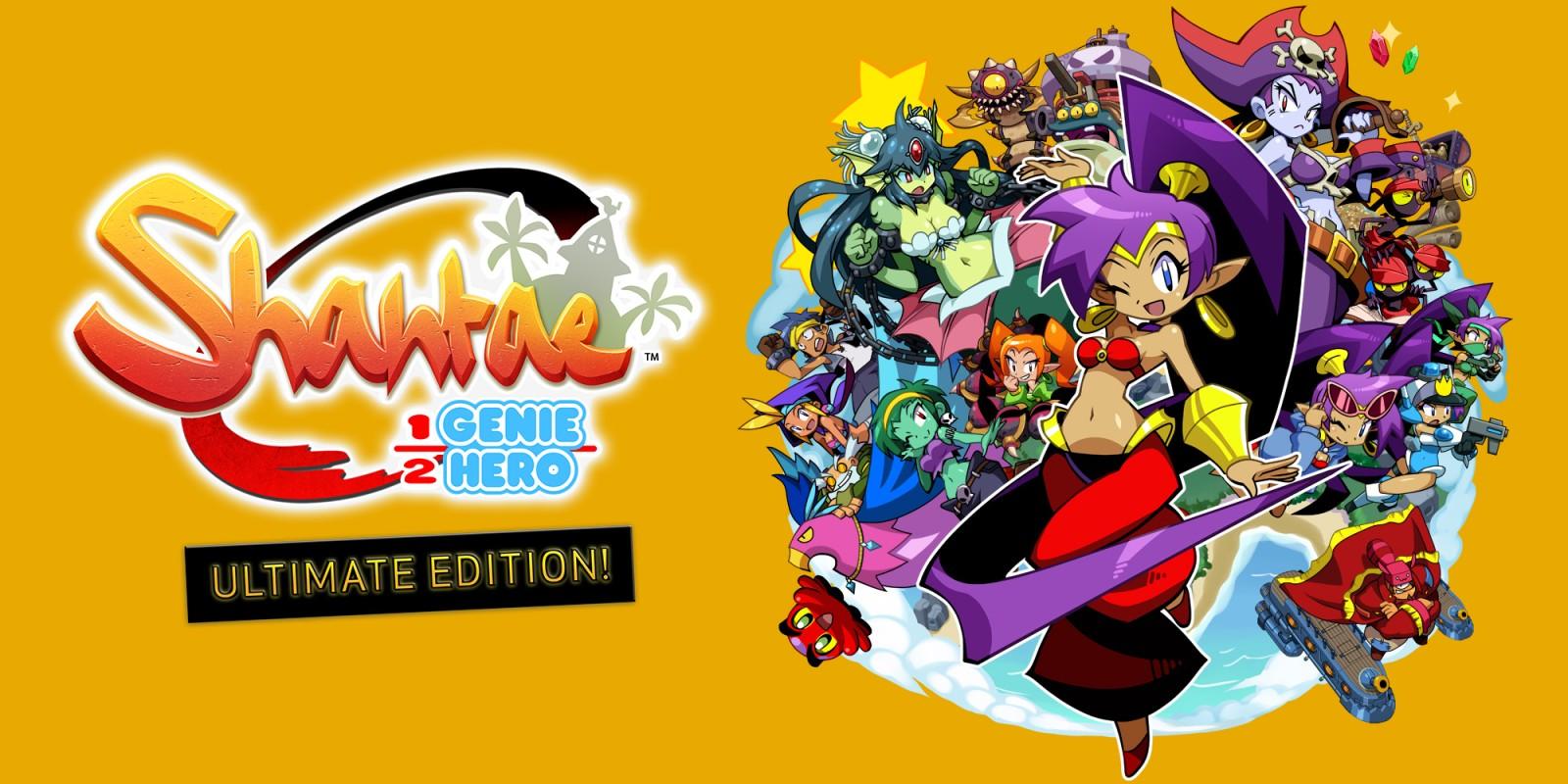 Shantae Half Genie Hero logo du jeu