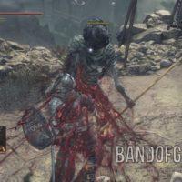 Dark Souls III backstab attaque de dos sanglante Band of Geeks