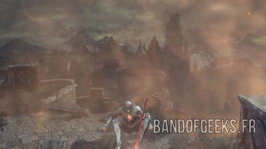 Dark Souls III feu de camp repos morteflamme Band of Geeks