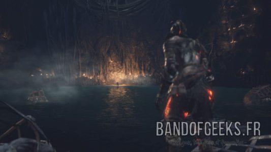 Dark Souls III Cave feu morteflamme Band of Geeks