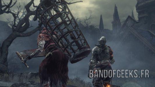 Dark Souls III cage morteflamme Band of Geeks