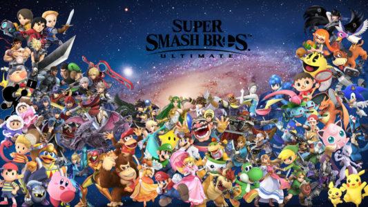 Super Smash bros Ultimate présentation des personnages