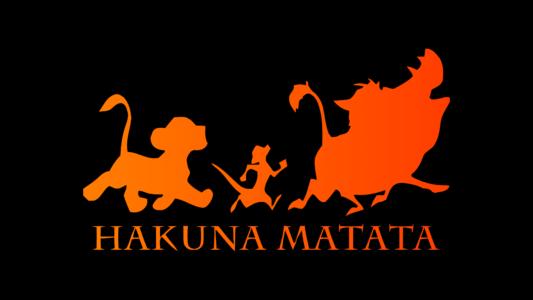 Le Roi Lion Hakuna Matata