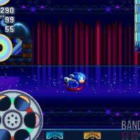 Sonic Mania Plus Sonic court