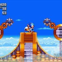 Sonic Mania Plus Sonic et Tails esquivent des boules à piques