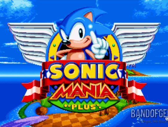 Sonic Mania Plus écran titre