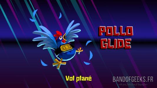 Guacamelee! 2 Pollo glide vol plane pouvoir poulet Band of Geeks