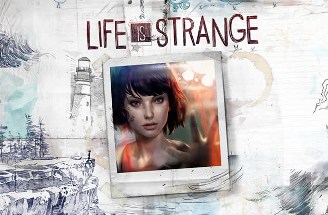 Life is Strange photo de Max et logo