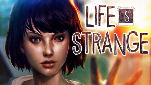 Life is Strange Max et logo du jeu