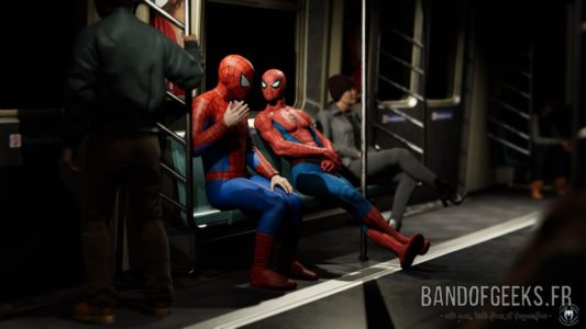 Marvel's Spider-Man deguisement sosie metro new york