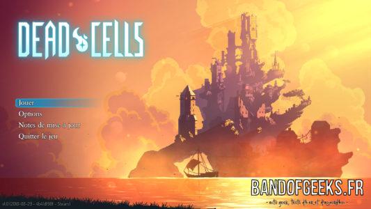 Dead Cells écran titre