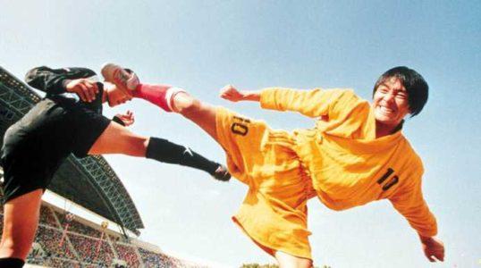 Shaolin Soccer coup de pied dans la tête