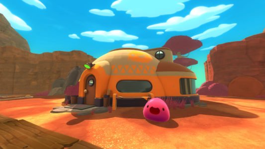 Slime Rancher ranch slime rose arrive Band of Geeks