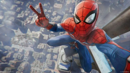 Spider-Man PS4 selfie hauteur arrive Band of Geeks