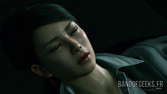 Yakuza Kiwami 2 Kaoru est blessée et souffre