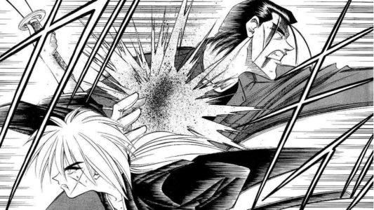 Kenshin et Saïto s'affrontent au sabre