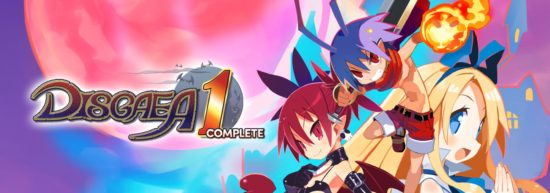 Disgaea 1 complete large title screen cover Band of Geeks