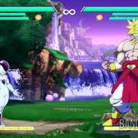 Dragon Ball FighterZ Frieza contre Broly