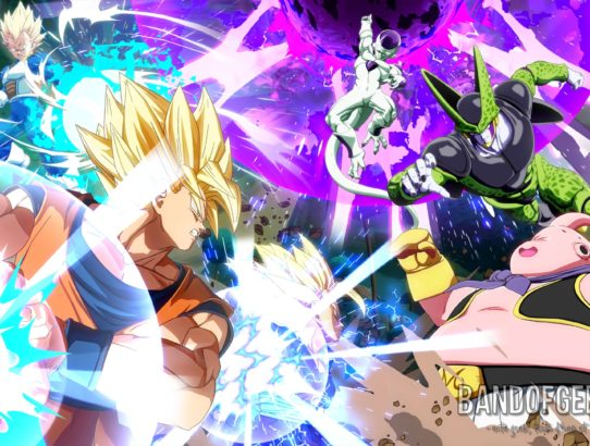 Dragon Ball FighterZ combattants écran titre