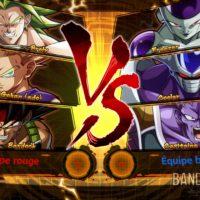 Dragon Ball FighterZ écran de chargement de combat