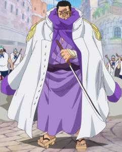 Fujitora One Piece prend la pose
