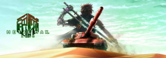 Metal Max Xeno large cover title screen Band of Geeks