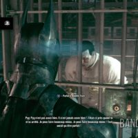 Batman Arkham Knight Batman discute avec Pyg