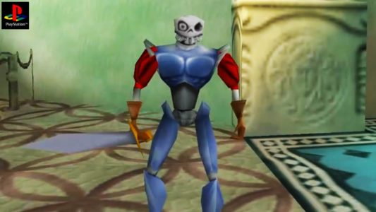 MediEvil sir Fortesque tient son épée