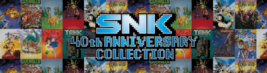 SNK 40th Anniversary Collection Switch Band of Geeks