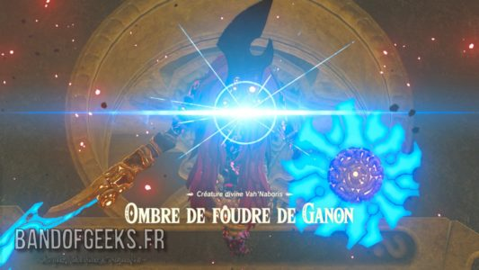 Breath of the Wild Ombre de foudre de Ganon