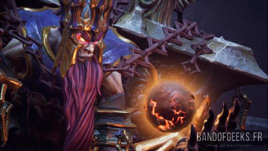 Darksiders III Le Seigneur des Abysses offre un pouvoir à Fury