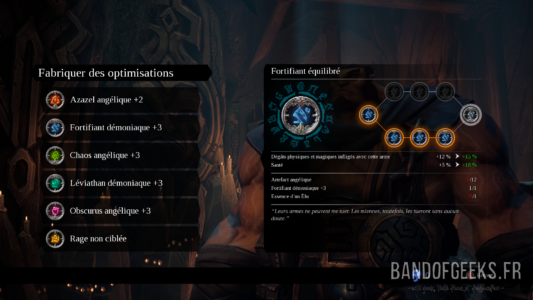 Darksiders III modification d'optimisation chez Ulthane