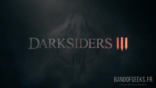 Darksiders III écran titre