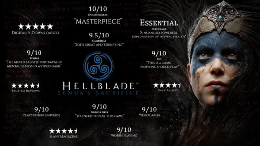Hellblade notes sites Internet