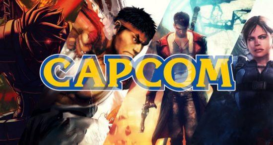 Capcom jeux et logo