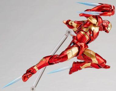 Iron Man Bleeding Edge Armor Amazing Yamaguchi punch Band of Geeks