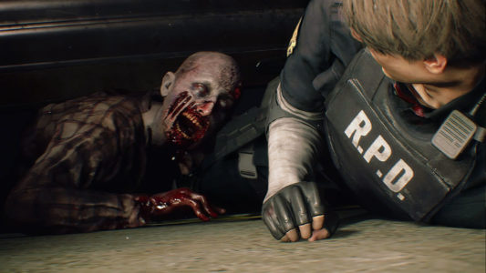Resident Evil 2 Zombie aggripeBand of Geeks