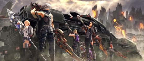 God Eater 3 equipe GEA Band of Geeks