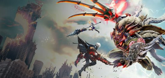 God Eater 3 official art box cover Band of Geeks